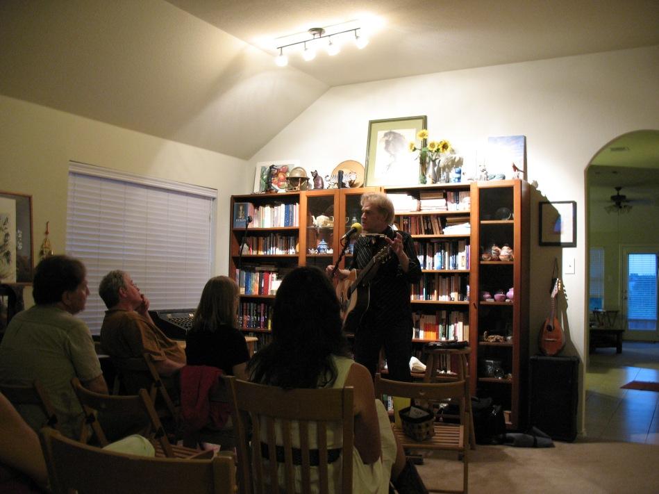 Bob Livingston Performing 8/28/2010
